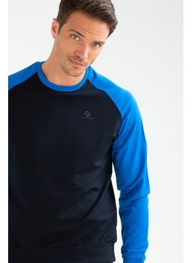 Speedlife Rubber Erkek Sweatshirt Lacivert